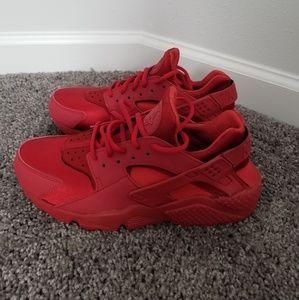 Authentic Womens Nike Hurache-Red-9